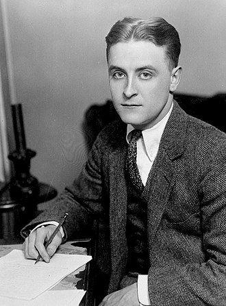 F. Scott Fitzgerald writing